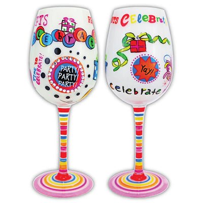 Celebrate Party Gifts Wineglass