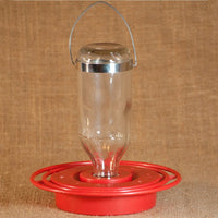 Glass Hummingbird Feeder Kit 8 oz