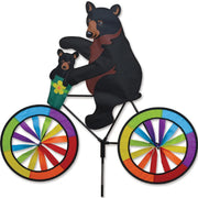 Black Bear Bicycle Wind Spinner 30 inch
