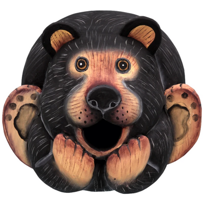 Black Bear Gord-O Wooden Birdhouse
