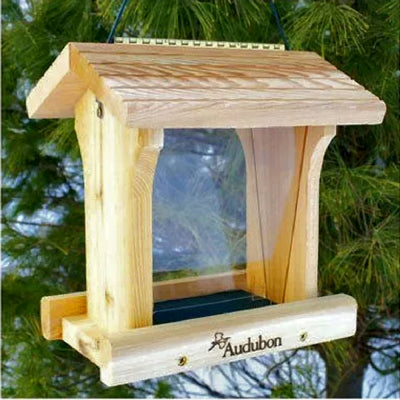 Cedar Ranch Hopper Bird Feeder