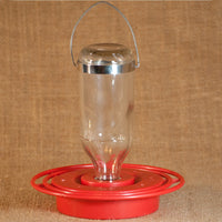 Glass Hummingbird Feeder 8 oz