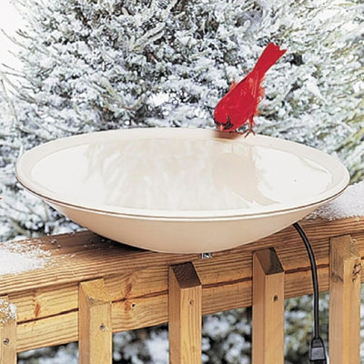 20 inch Heated Birdbath w/Hardware - Momma's Home Store