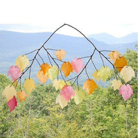 Autumn Leaves Capiz Wind Chime