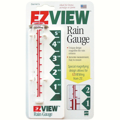 EZ View Glass Rain Gauge