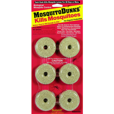 Mosquito Dunks Mosquito Control 6 Pack