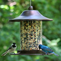 Panorama Brown Wild Bird Feeder