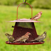 Red Cardinal Mesh Bird Feeder