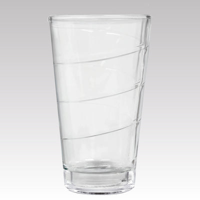 Spiral Cooler Glass 16 oz Set of 2