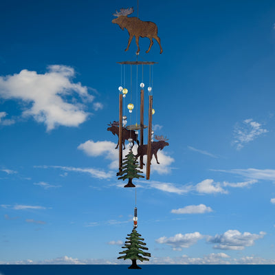 Wilderness Moose Wind Chime