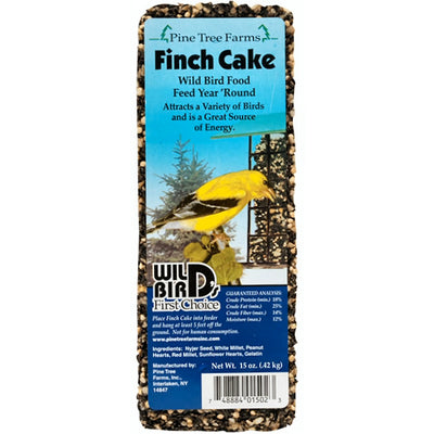 Finch Cake Seed Bar 15 oz - 2 pack