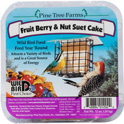Fruit Berry & Nut Suet Cake 12 oz - 3 pack