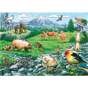 Rocky Mountain Wildlife 35 Piece Tray Puzzle