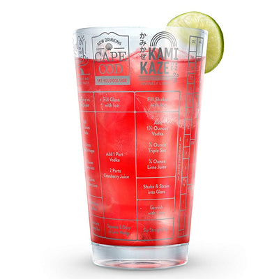 Vodka Recipe Measuring Glass 16 oz