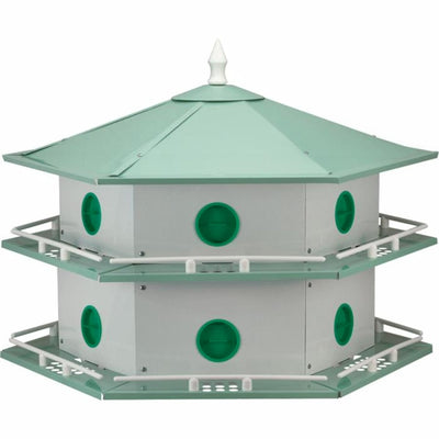 Deluxe Aluminum Purple Martin House - 12 Room