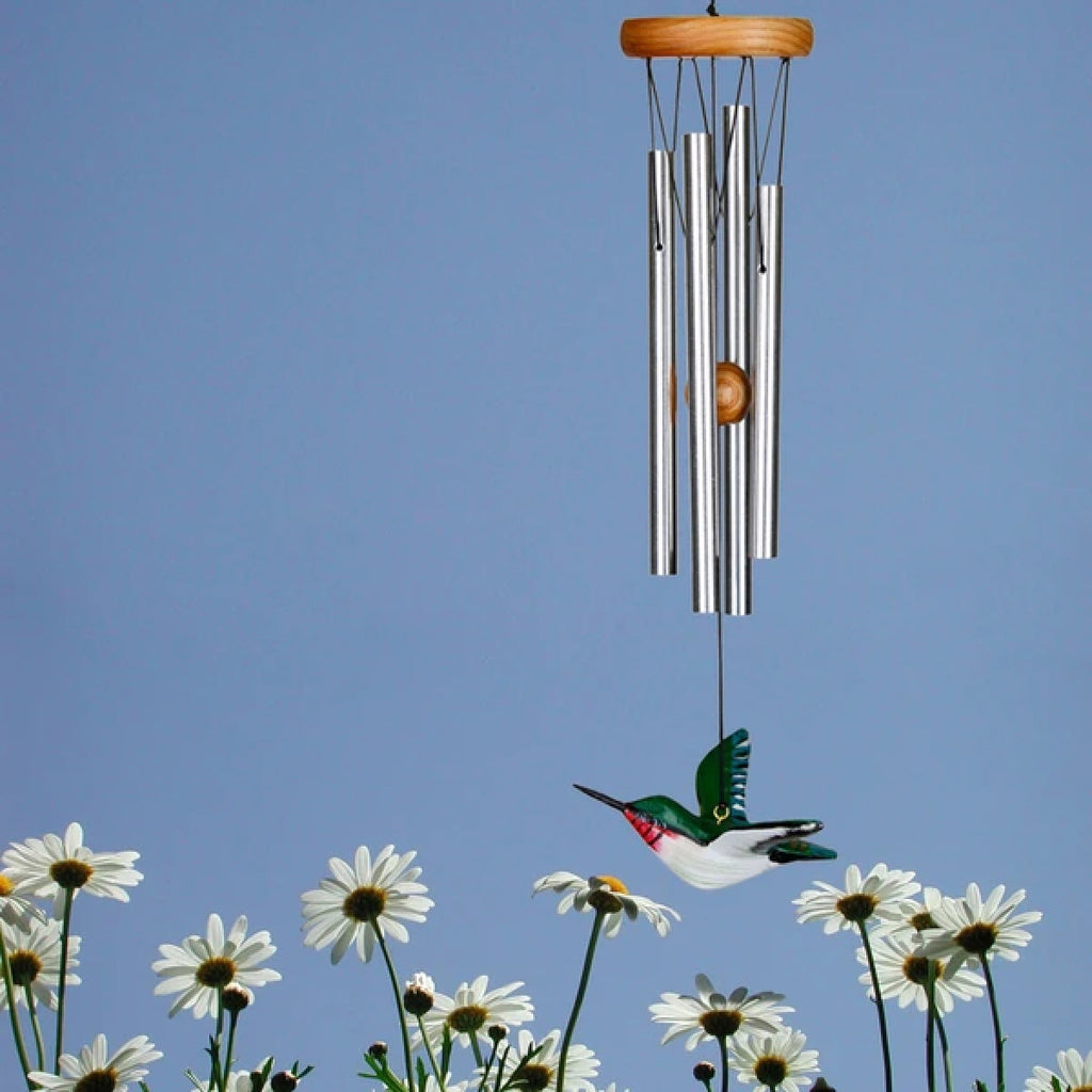 Ruby-throated Hummer Wind Chime