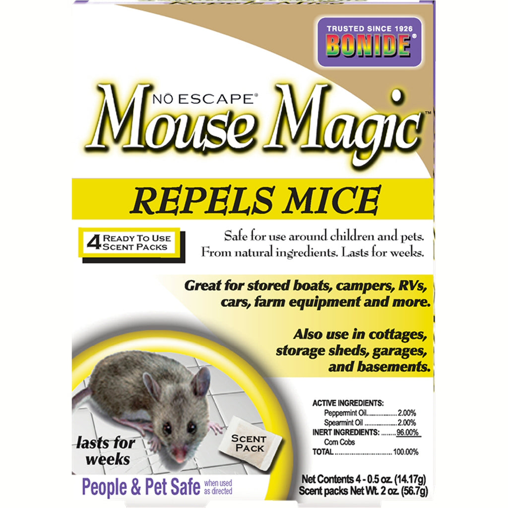 Mouse Magic Mouse Repellent 4 pk