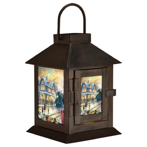 All Aboard for Christmas Led Lantern