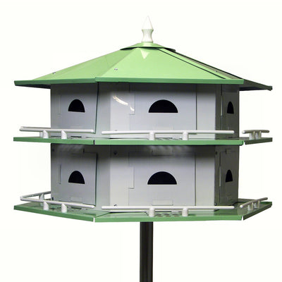 Convertible Aluminum Purple Martin House - 12 Room