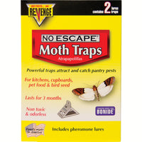 No Escape Pheromone Moth Trap 2 pk