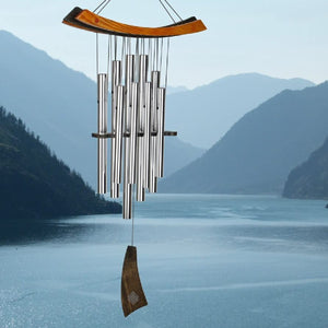 Silver Illusion Healing Wind Chime