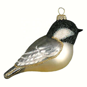 Black Capped Chickadee Ornament - Momma's Home Store