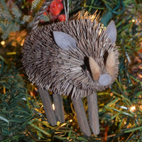 Wild Boar Bristle Brush Ornament