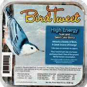 Bird Tweet Suet & Seed Cake 9.5 oz - 10 pack