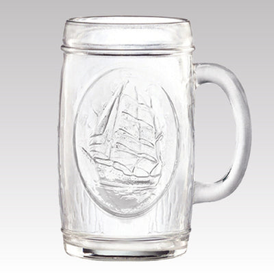 Velero Glass Beer Mug 16.25 oz Set of 4