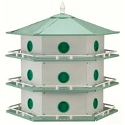 Deluxe Aluminum Purple Martin House - 18 Room