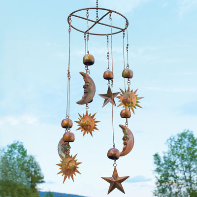Celestial Bells Flamed Circle Mobile