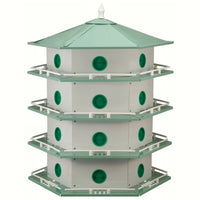 Deluxe Aluminum Purple Martin House - 24 Room