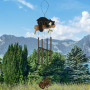 Bear & Pine Cones Wind Chime