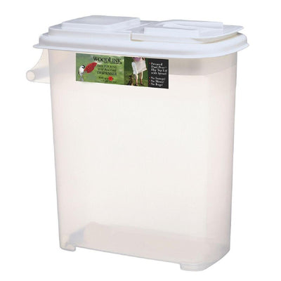 Dual-Pour Bird Seed Container 32 Quart