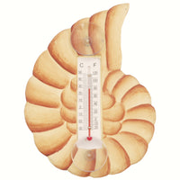 Spiral Shell Window Thermometer Small