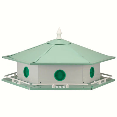 Deluxe Aluminum Purple Martin House - 6 Room