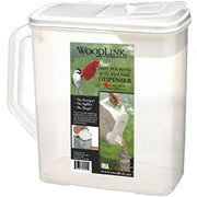 Dual-Pour Bird Seed Container 6 Quart
