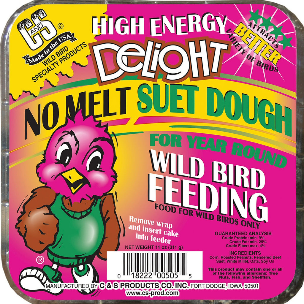 High Energy Delight No Melt Suet Dough - 3 pk