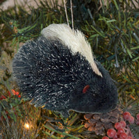 Porcupine Bristle Brush Ornament