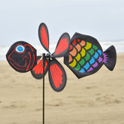 Fish Baby Staked Wind Spinner
