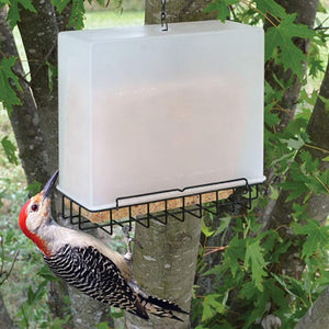 Suet Cage Bird Feeder Cover