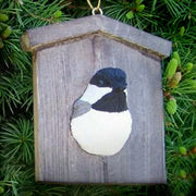 Chickadee House Tree Ornament