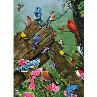 Birds of the Forest 1000 Piece Puzzle