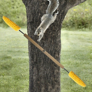 Double Corn Spinner Squirrel Feeder
