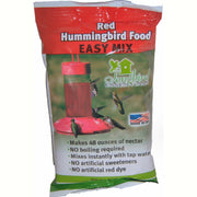 Red Hummingbird Food Easy Mix 8 oz