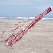 Holographic Windsock Red 51 inch