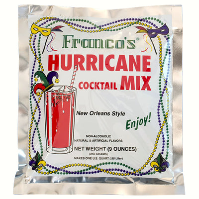 Franco's Hurricane Cocktail Mix Qt Box of 12