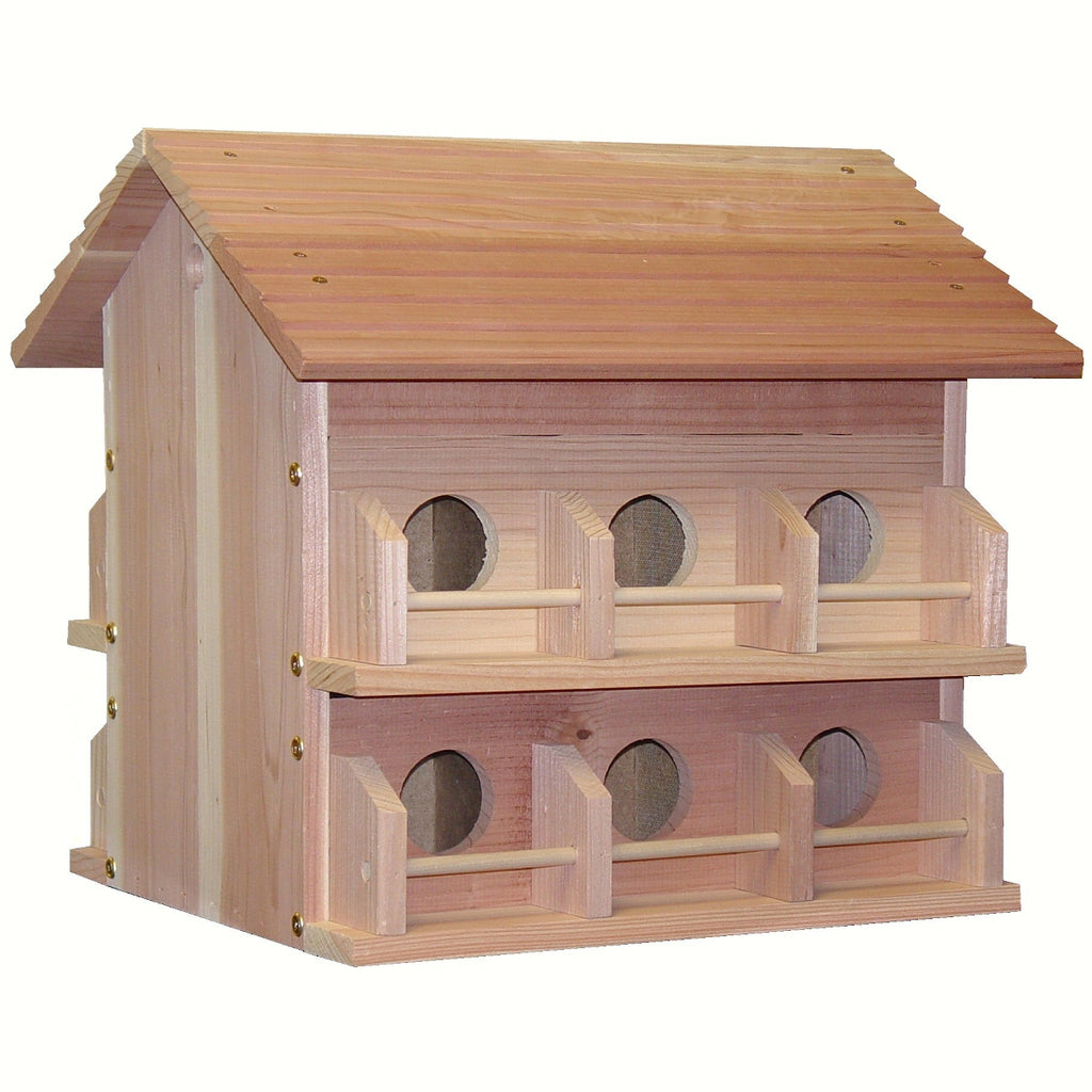 Cedar Purple Martin House - 12 Room