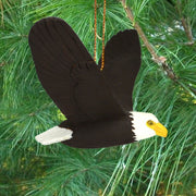 Eagle Soaring Tree Ornament