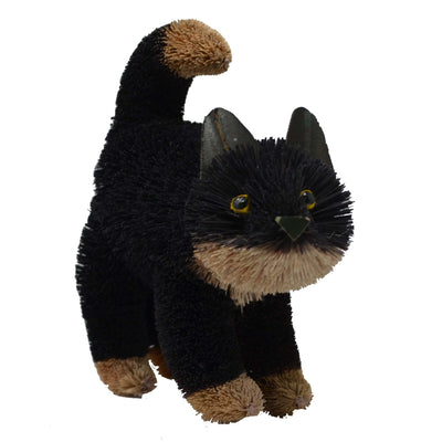 Buri Bristle Cat Black 9 inch